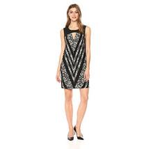BCBGMax Azria Women's Lane Floral Tunic Dress, Black Combo, XS - $64.34