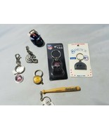 Sports Theme Gift Set Keychain Lot Football Baseball Team Memorabilia So... - $23.24