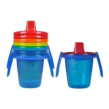 The First Years Take & Toss Spill-Proof Sippy Cups with Removable Handle... - $12.57