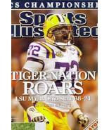 Sports Illustrated Magazine, January 14 2008, Tiger Nation Roars - $0.99