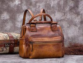 Sale, Fashion Full Grain Leather Messenger Bag, Shoulder Bag, Satchel Bag, Leath image 3