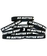 10 No Matter What Wristbands - Motivation Inspiration Recovery Bracelets... - $13.74