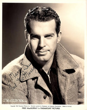 Fred MacMurray Vintage Autographed Autograph Signed Hollywood Film Movie... - $69.99