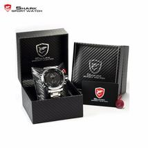 Luxury Package Box SHARK Sport Watch Brand Reloj Hombre Calendar Digital... - $167.17 CAD+