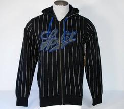 Split Black & White Hooded Jacket Sweatshirt Hoodie Men's Small S NWT - $29.69