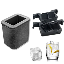 2 In 1 Crystal Clear Ice Ball Maker Silicone Ice Mold Tray Ice Cube Make... - $66.00