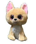 "Ty Beanie Boos Retired Golden NACHO Chihuahua Dog Plush 11"" Medium Sz Big Eyes - $24.99"