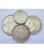 1910-1958 Belgique Franc-100 Francs Lot de 4 ( Xf-Au ) km# 73.1,105,151.... - $64.34