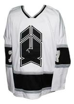 Custom Name # New Haven Nighthawks Retro Hockey Jersey 1980 New White Any Size image 3