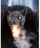 Halloween 2.5 Ft Cerberus Three Headed Dog Animatronics - $494.99