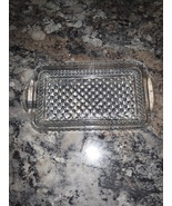 VTG Anchor Hocking Wexford Rectangular Relish/Candy Dish - $28.00