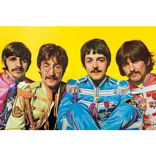 THE BEATLES SGT. PEPPER'S LONELY HEARTS CLUB BAND POSTER 24 x 36 INCHES