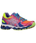 Women's Asics Gel-Nimbus 14 Running Shoes Lite Bright/Grape/Pink US 6 - $108.09
