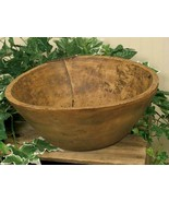 Rustic new Nannys Fixin Bowl -Centerpiece bowl - $48.00