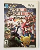 Super Smash Bros Brawl 2008 Nintendo Wii CIB Complete- B - $24.70