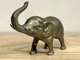 Vintage Truck Up Brass Elephant w/ Tusks - $22.95