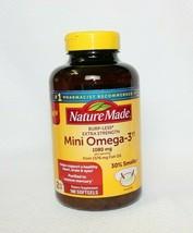 Nature Made Burp Less Extra Strength Mini Omega 3 Fish Oil, 1080mg, 180 ... - $34.64