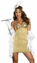 Dreamgirl Vaudeville Vixen Flapper Adult Halloween Costume Size Medium 8421 - $23.26