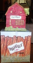 1993 Pigsville by Ganz - Barn Figurine - $23.10