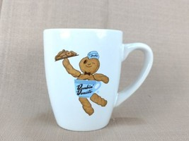 Dunkin Donuts Dunkie Donut Man Collectable White Coffee Mug 2010 - $9.49