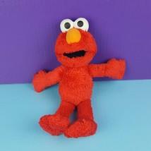 """Hasbro Sesame Street Plush Elmo Red Furry Monster 11"""" Soft Floppy Stuffe... - $13.85"""