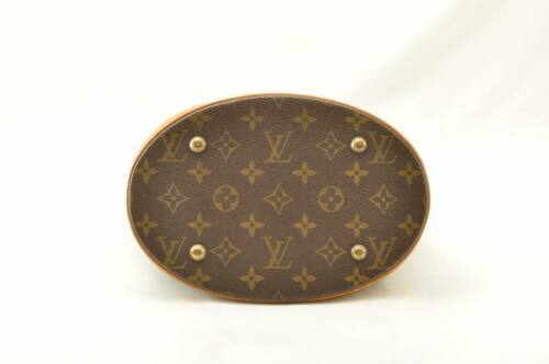 LOUIS VUITTON Monogram Bucket PM Shoulder Bag M42238 LV Auth cr194 **No Sticky image 8