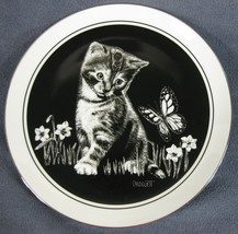 Are You a Flower? Kittens World Collector Plate Plate Rudy Droguett Cat ... - $21.95