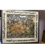 """Frolicking in a Jungle Paradise"" Batik on Silk by Sandra Grassi Nelipov... - $410.23"