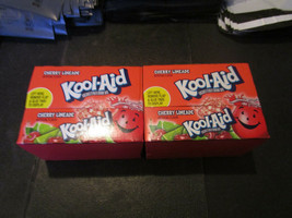 Kool-Aid Drink Mix Cherry Limeade 2-48 Count Boxes - $29.40