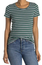 J. Crew Womens Striped Perfect Fit Short Sleeve Cotton Meadow Navy White... - $11.93