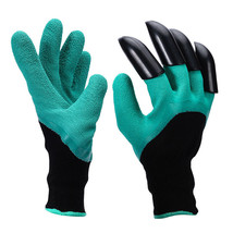 2pairs Garden gloves with fingertips claws quick easy to plant and safe ... - $19.59