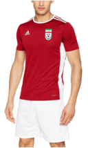 2019 Iran-Team Melli Original Top Training Jersey, Red  ,Size: 2XL - $39.99