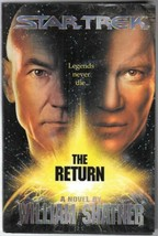 Star Trek The Return Hardcover Book 1st Ed 1996 NEW UNREAD - $4.99