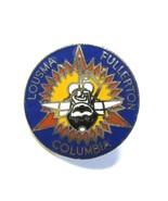 Vintage Blue Space Shuttle Columbia STS-3 Fullerton Lousma Enamel Cloiso... - $8.50