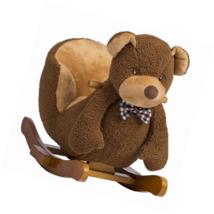 Rockin' Rider Barry The Bear Baby Rocker Plush Ride-On, Brown - $93.22