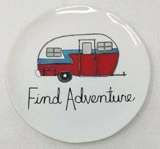 Bath & Body Works Find Adventure Retro Camper Plate Large 3 Wick Candle Holder - $10.99