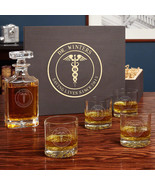Medical Arts Carson Decanter Set - Personalized Gift for Doctors - $149.95
