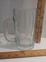 Vintage Clear Glass Handled Mug Beer or Root Beer Mug - £5.81 GBP