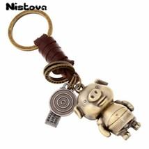 Nistova® Bag Fashion Retro Pig Pendant Alloy Luggage Tag Accessories Cre... - $9.05
