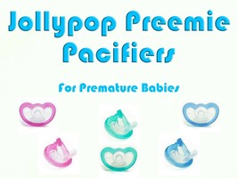 JollyPop Pacifier Preemie Pick Color &/or Scent Baby Soothie Gumdrop Dummy - $5.49+