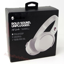 Skullcandy Riff Wireless Bluetooth On-Ear Headphones - White Crimson - $23.95