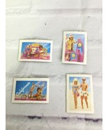 Vintage 80s Mattel California Dream Barbie Surf N Shop AD Promo Card Acc... - $11.87