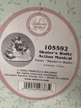 Cherished Teddies 105592 Skater's Waltz Action Musical Brand New /tape s... - $22.00