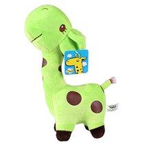"""Plush Doll for Kids Lovely Giraffe Plush Toys 14.9"""" H Apple Green - $26.37"""