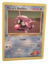 Pokemon Card - 1st Edition Misty's Shellder (89/132) Gym Heroes Set **NM*** - $1.99