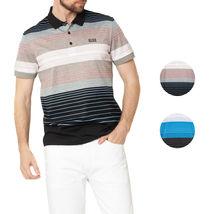 Hugo Boss Green Men's Paddy 3 Cotton Polo Shirt T-Shirt 50379129