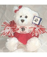 Steven Smith Stuffed Animals INC PA7563RC Shattuck Indians Cheerleader Bear - $13.50