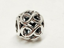 Authentic Pandora Infinite Shine Charm Sterling Silver 791872 NWT  - $18.10