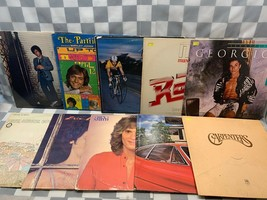 (Lot of 10) Pop Rock LP Record Album Vinyl Partridge Joel Carpenters Rex... - £9.80 GBP