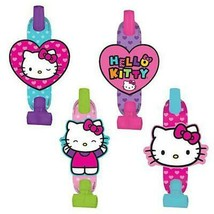Hello Kitty Rainbow Blowouts 8 Per Package Birthday Party Favor Supplies... - $4.21